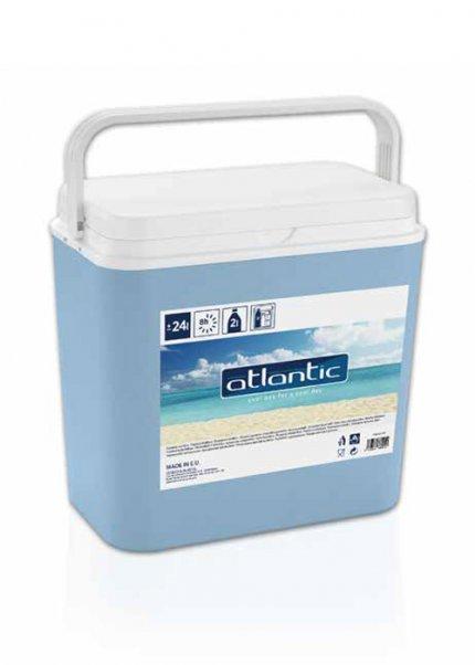 Glaci/ère bleue grand format pour pique-nique Cooler Box 3 Ice Packs d/éjeuner 32 l + 3/briques r/éfrig/érantes plage et camping